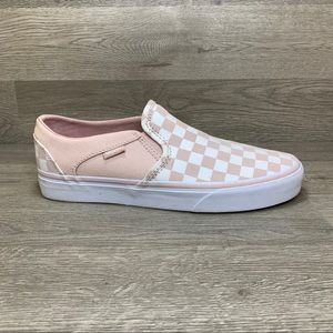 Vans Off The Wall Checkerboard Slip On Sneakers